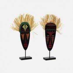 Figure Africaine En Bois 20...