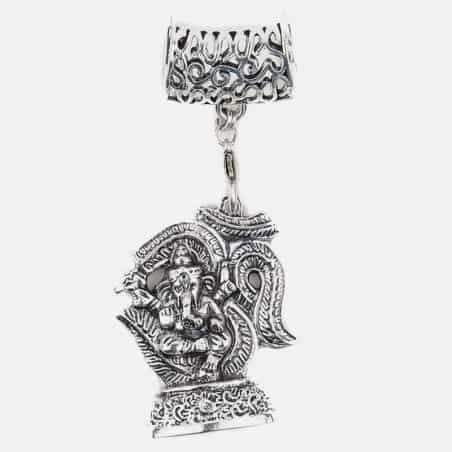Bijou De Foulard Ganesh 5.5 X 4.5 Cm