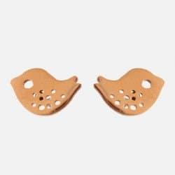 Boucles Doreilles Acier Inoxydable Oiseau