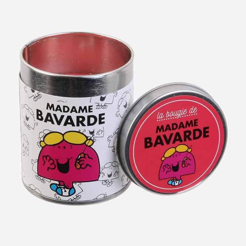 Bougie Parfumee Bubble Gum Pot Metal Mr Mme 7 X 6 Cm