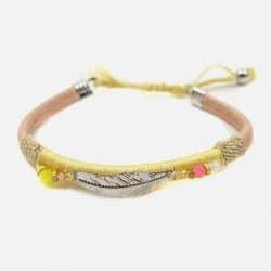Bracelet Plume Métal