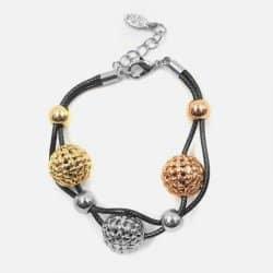 Bracelet Triple Sphère