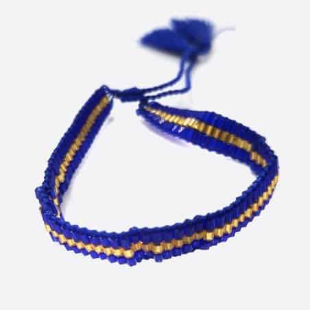 Bracelets Multiples Perles Et Pompon