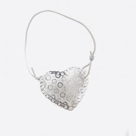 Bracelets Elastique Filigrane Coeur