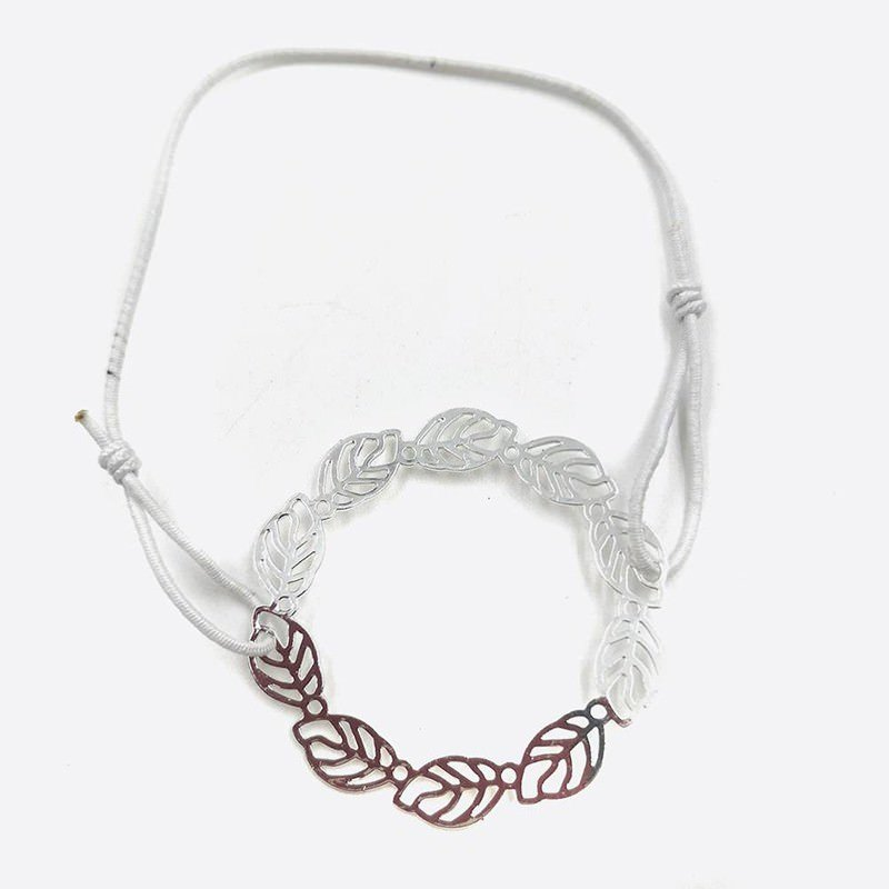 Bracelets Elastique Filigrane Cercle Feuilles