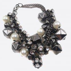 Bracelets Multiples Perles Et Strass