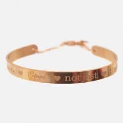 Bracelet Jonc Acier Inoxydable Not Just