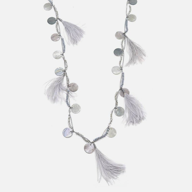 Collier Long Multiples Pompon Et Medaille