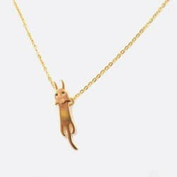 Collier Acier Inoxydable Chat