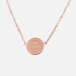 Collier Acier Inoxydable Lucky Every Day