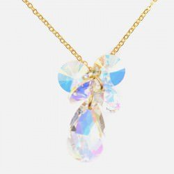 Collier Acier Inoxydable Multiples Strass A
