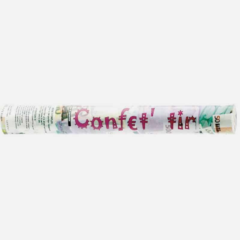 Canon A Confettis Billets 40cms