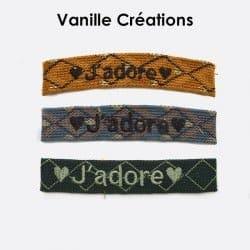 Pack De 3 Bracelets En Coton Tissé Jadore A