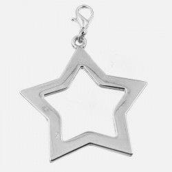 Médaille 4 Cm Pour Bracelets À Composer Etoile