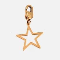 Médaille Acier Inoxydable 2 Cm Pour Bracelets À Composer Etoile