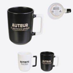 Mug Artiste Noir Et Blanc 30cl