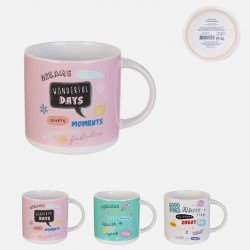 Mug Wonderful Day Céramique 30 Cl 9 X 9 Cm