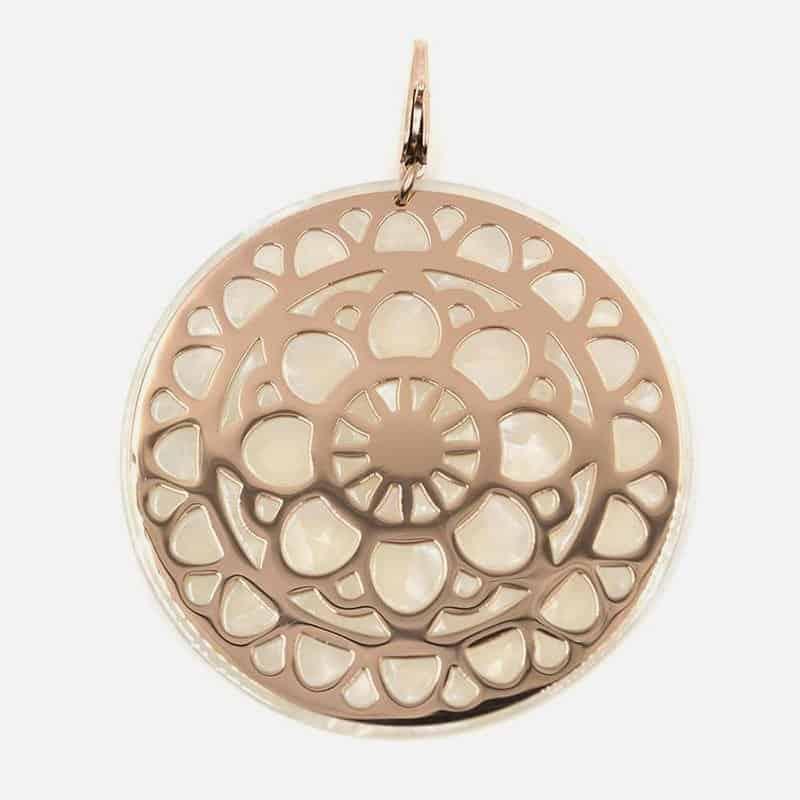 Bijou de Foulards Cercle avec Motifs Aquarelle Gouttes D'eau