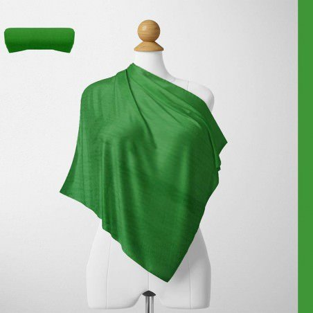 Foulard Unis Mixte Jersey Vert Sapin 100% Viscose 60 X 180 Cm (C21)