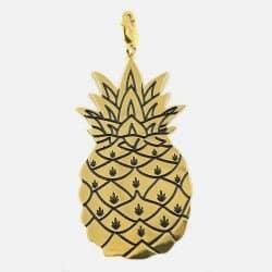 Pendentif Acier Inoxydable Ananas
