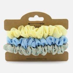 Pack de 3 Chouchous Jaune et Bleu