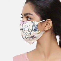 Masque Colorée Avec Motifs...