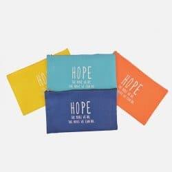 Pochette Hope En Coton 26 x 8 x 16 cm