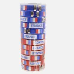 Pack de 12 Bracelets France...