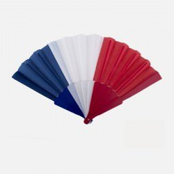 Éventail Bleu Blanc Rouge