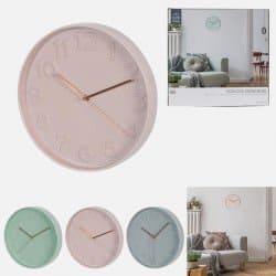 Horloge Ronde Colorée 30.5 cm